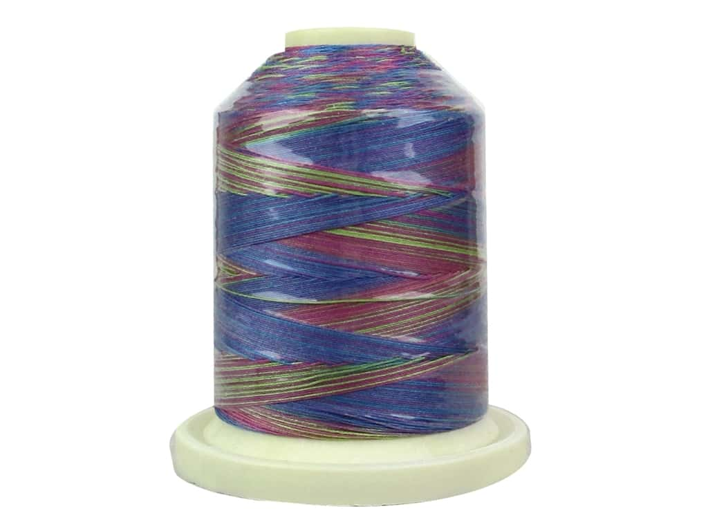 Signature 100% Cotton Thread 700 yd. #M16 Variegated Fad 5