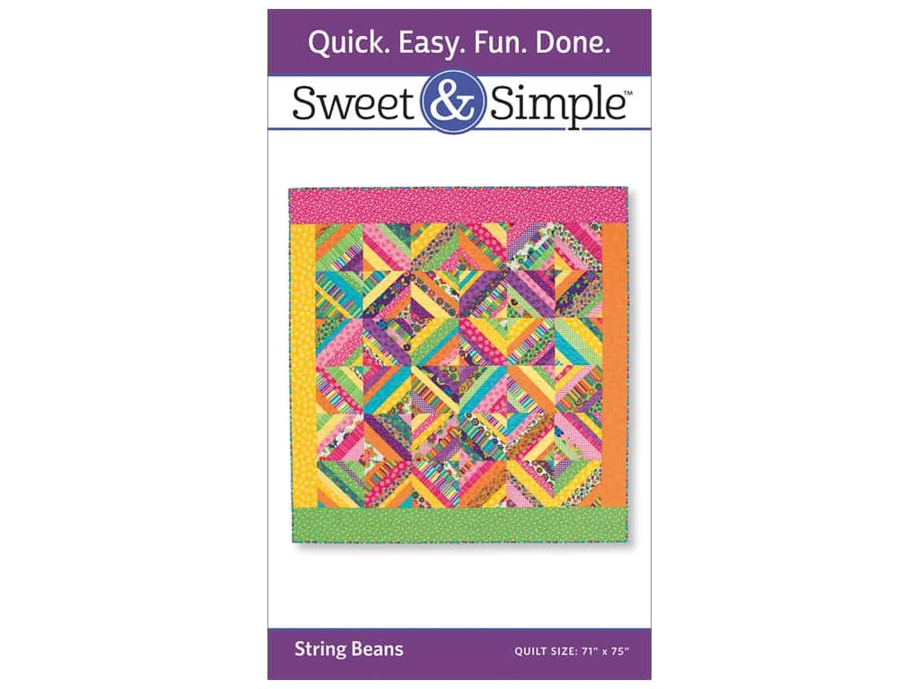 That Patchwork Place Sweet & Simple String Beans Pattern