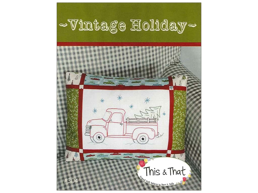 This & That Vintage Holiday Pattern