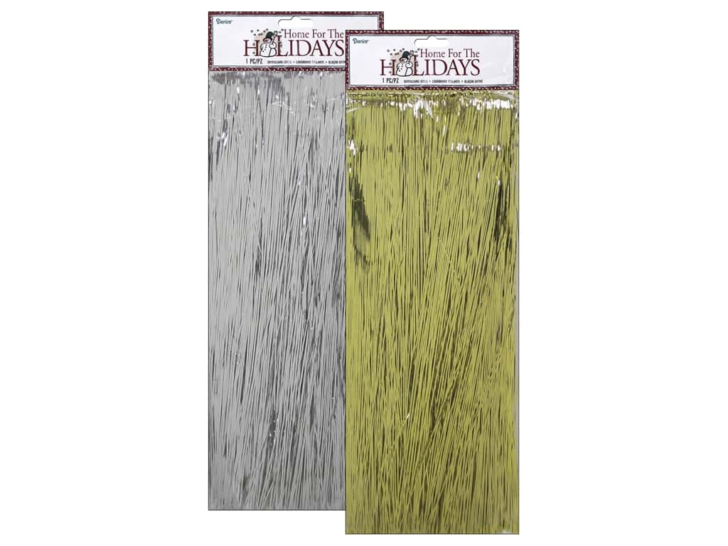 Darice Holiday Icicles Assorted Silver/Gold
