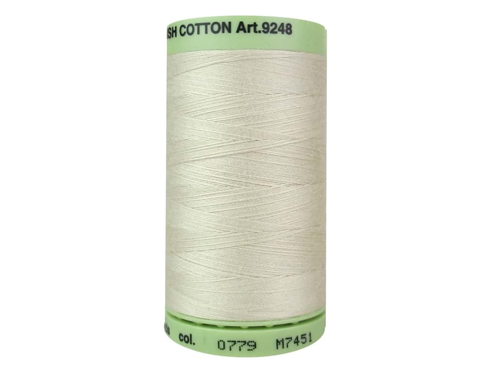 Mettler Silk Finish Cotton Thread 60 wt. 875 yd. #0779 Pine Nut