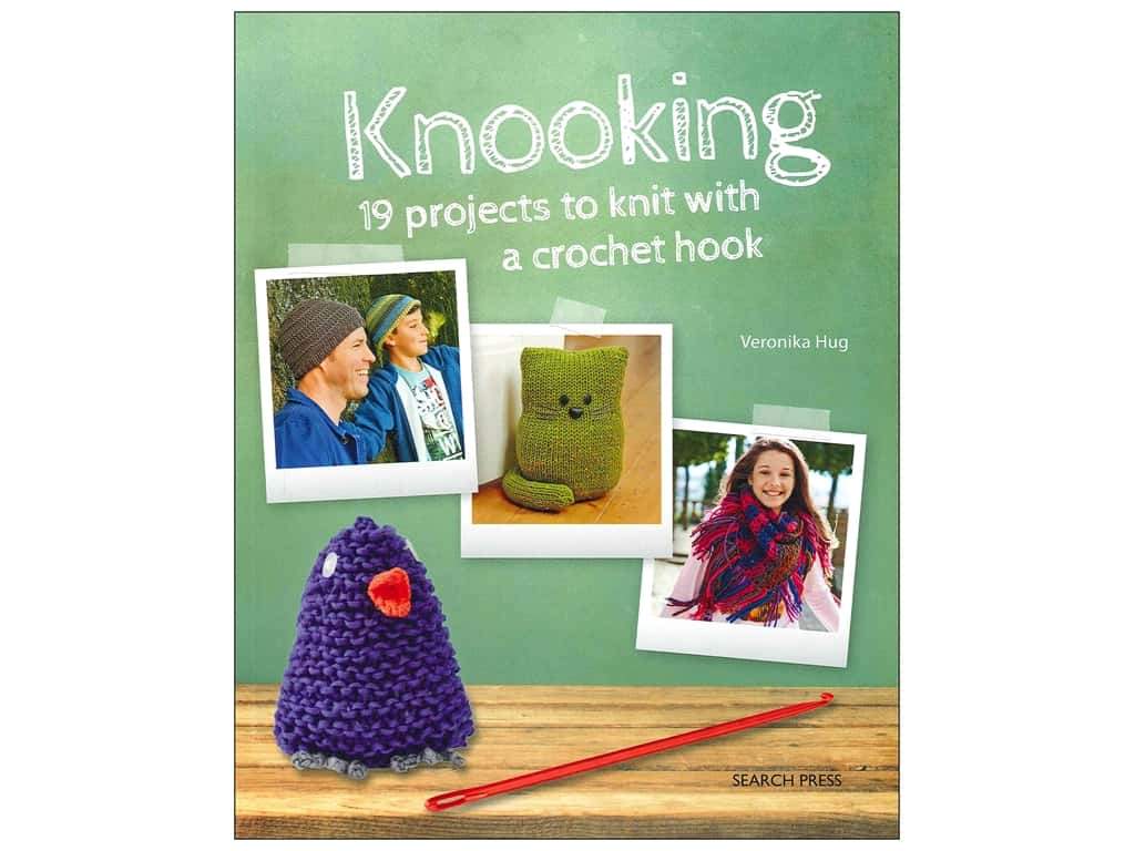 Knooking Knit With a Crochet Hook Book by Veronika Hug