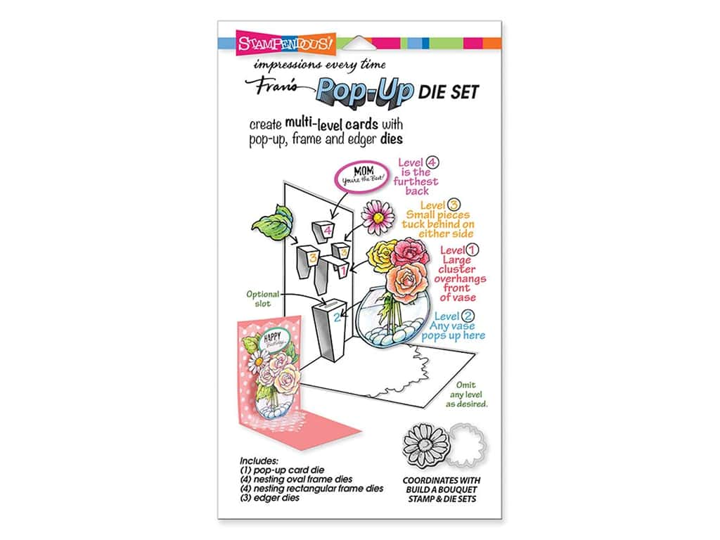 Stampendous Die Build A Pop Up