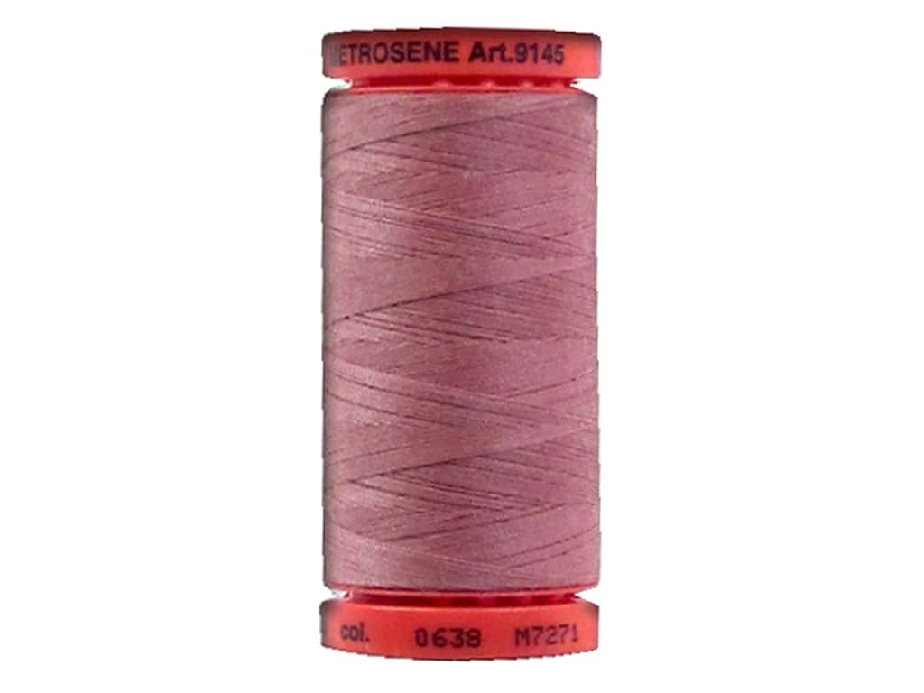 Mettler Metrosene All Purpose Thread 547 yd. #638 Red Planet