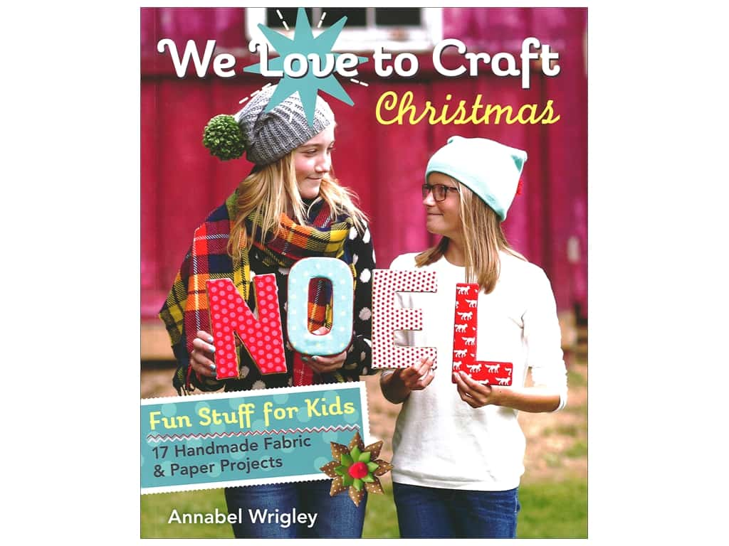 FunStitch Studio By C&T We Love To Craft Christmas Book