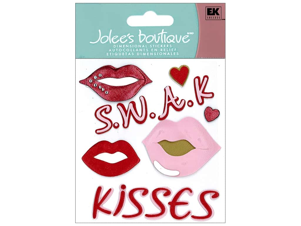 Jolee's Boutique Stickers Sweet Kisses