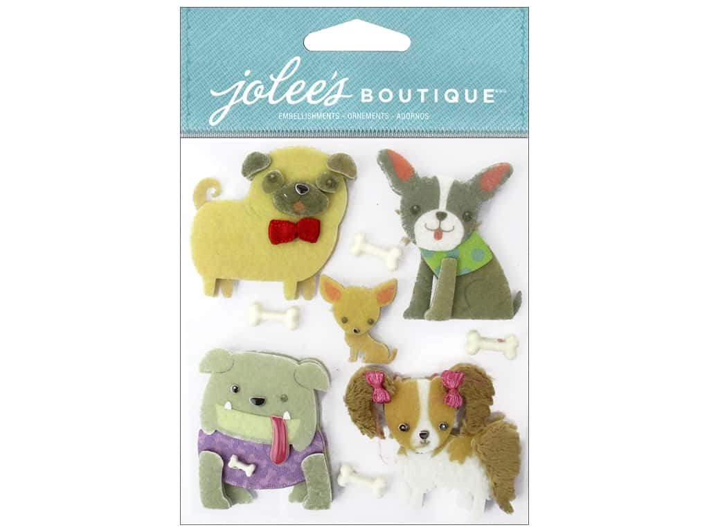 Jolee's Boutique Stickers Doggies