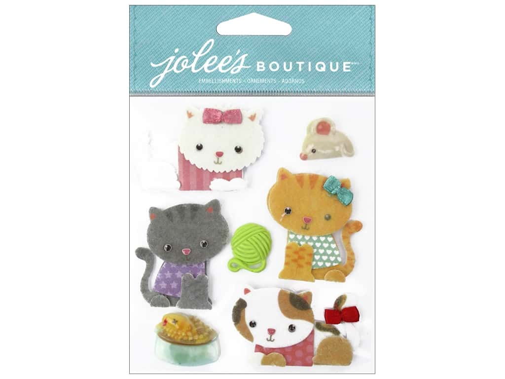 Jolee's Boutique Stickers Kitties