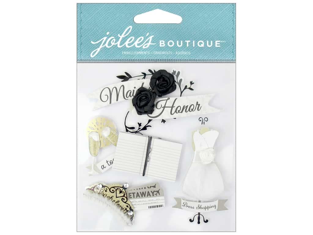 Jolee's Boutique Stickers Maid Of Honor