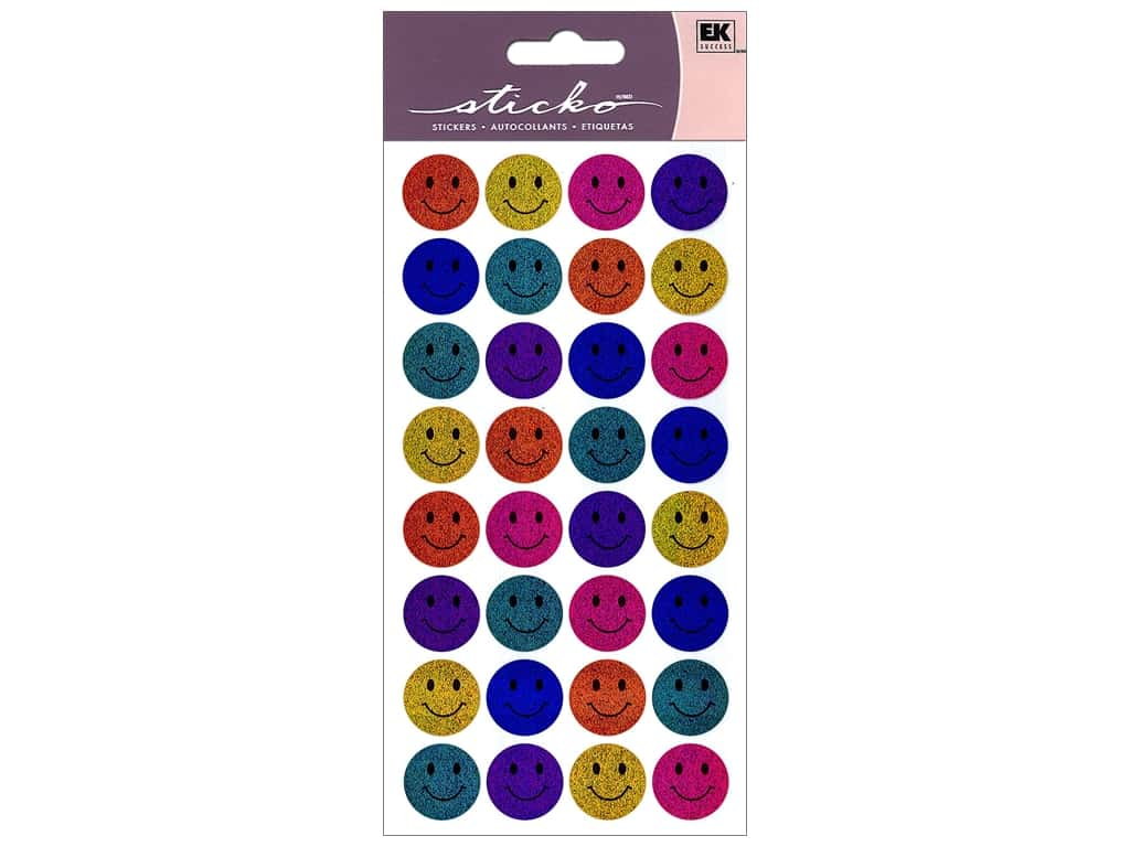 Sticko Stickers - Happy Faces