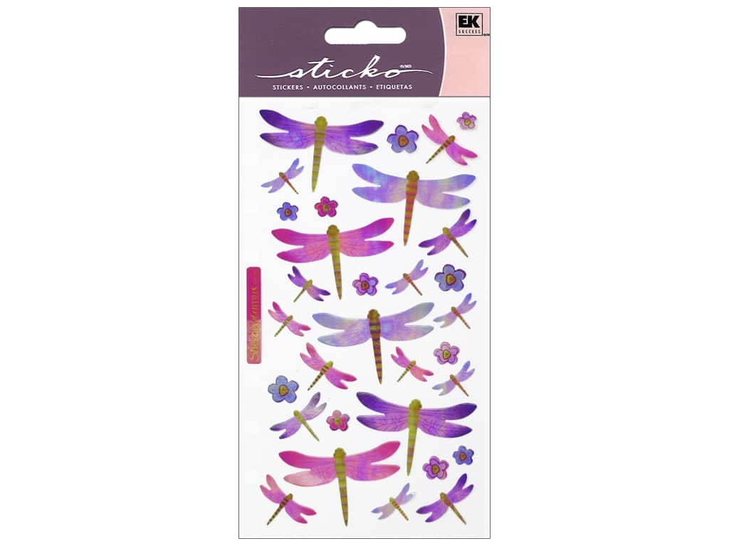 Sticko Stickers - Dragonflies