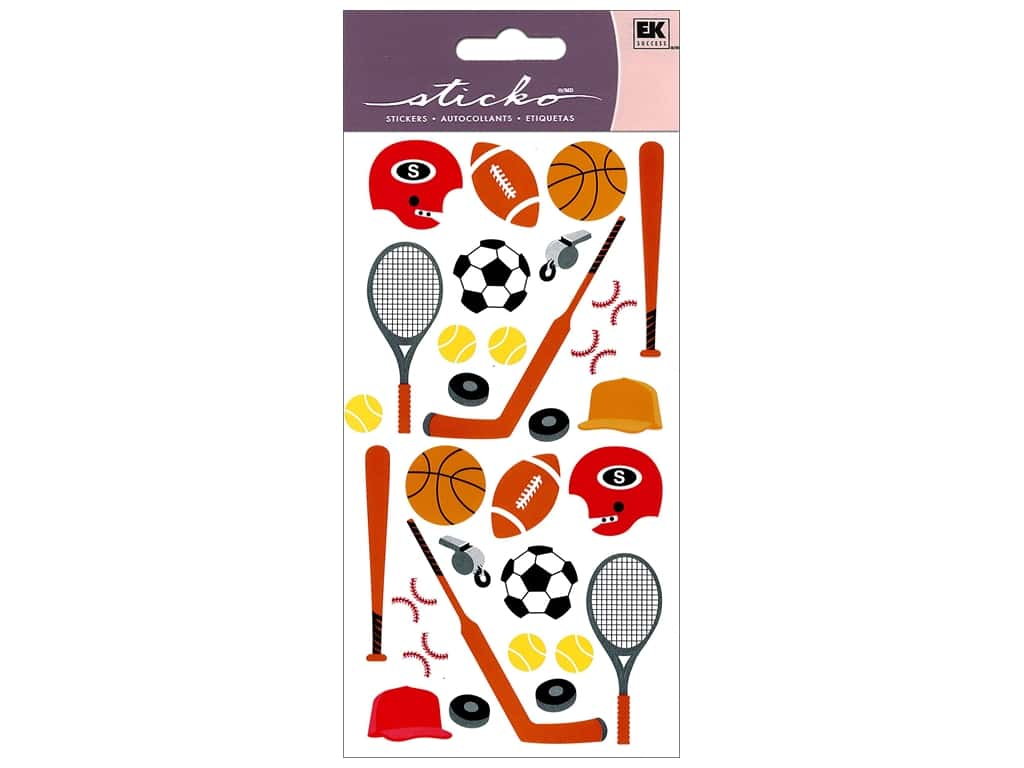 EK Sticko Stickers Sports Equipment