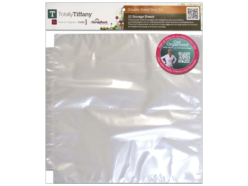 Totally Tiffany ScrapRack Double Side Duo 2x1 10 pc