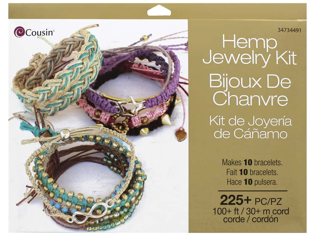 Cousin Hemp Jewlery Kit