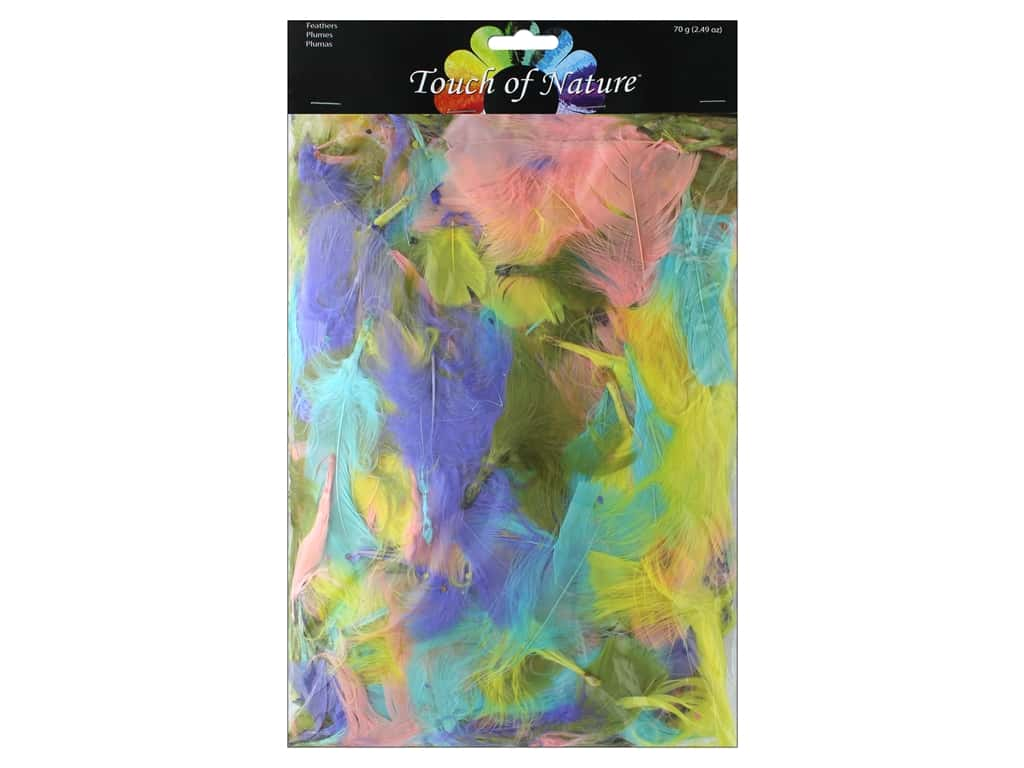 Midwest Design Turkey Feathers Value Pack 2.49 oz. Pastel