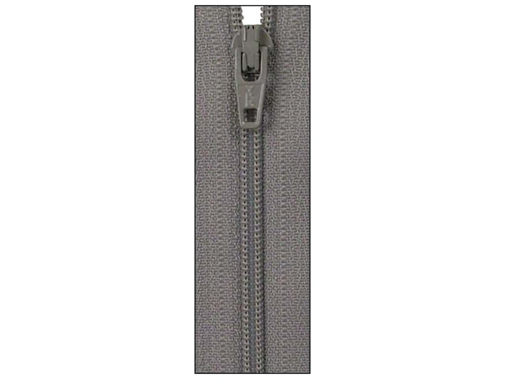 Atkinson Designs Zipper by YKK 22 in. Grey Kitty (6 pieces)