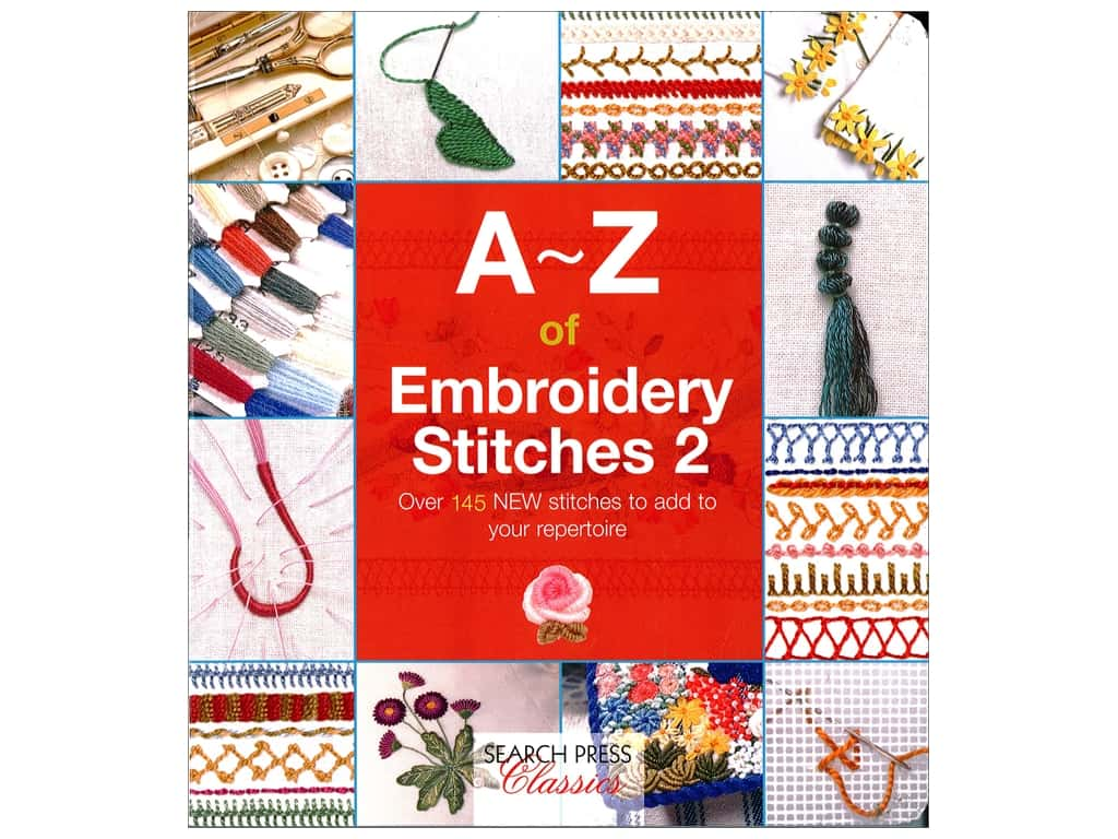 Search Press A-Z Of Embroidery Stitches 2 Book