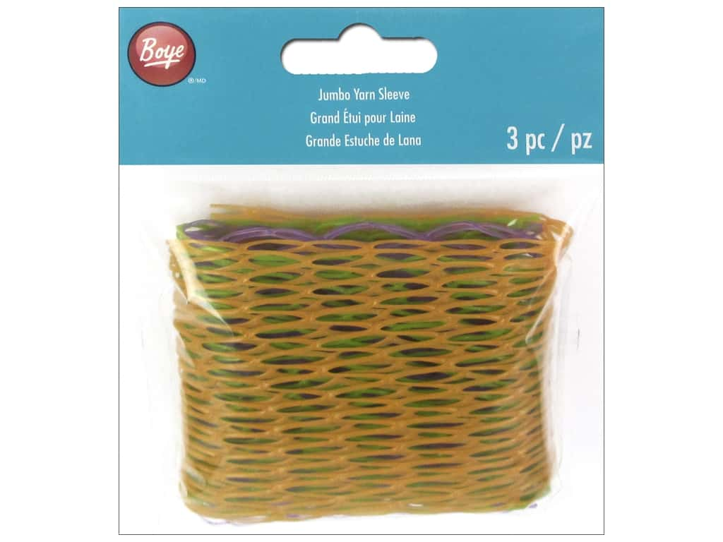 Boye Yarn Sleeves 3 pc. Jumbo Assorted