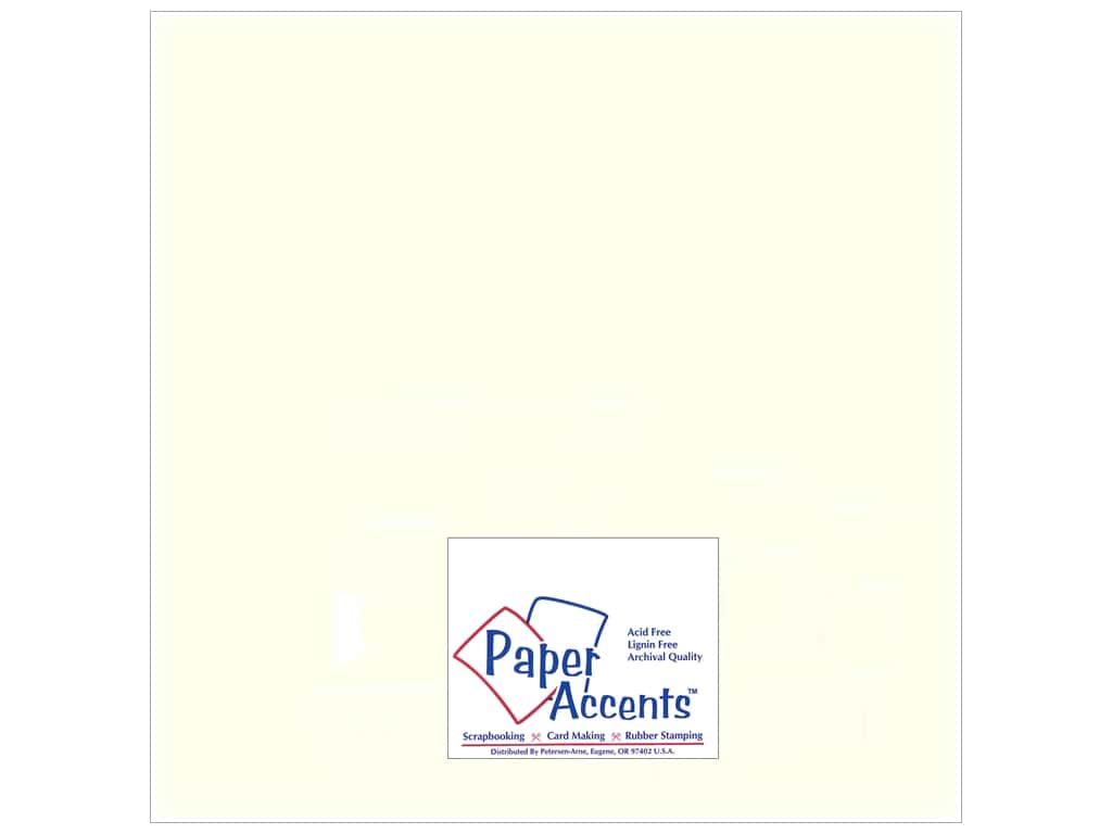 Paper Accents Pearlized Paper 12 x 12 in. #893 Pearl 5 pc.