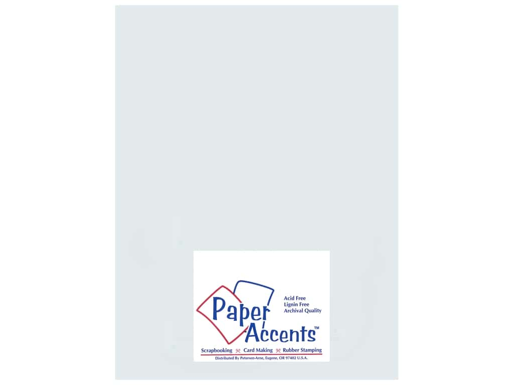 Paper Accents Cardstock 8 1/2 x 11 in. #896C Pearlized Nickel (25 sheets)