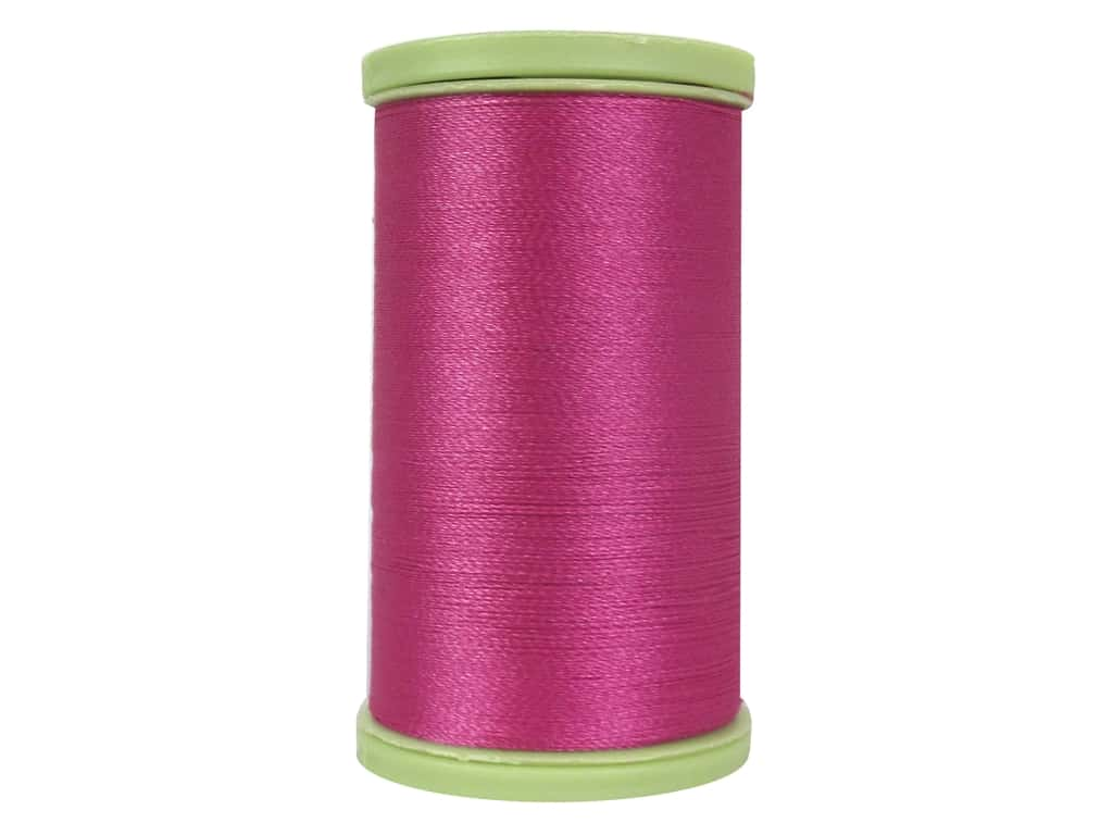 Coats Trilobal Polyester Embroidery Thread  600 yd. #3040 Red Rose