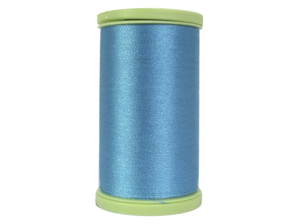 Coats Trilobal Polyester Embroidery Thread  600 yd. #5450 River Blue