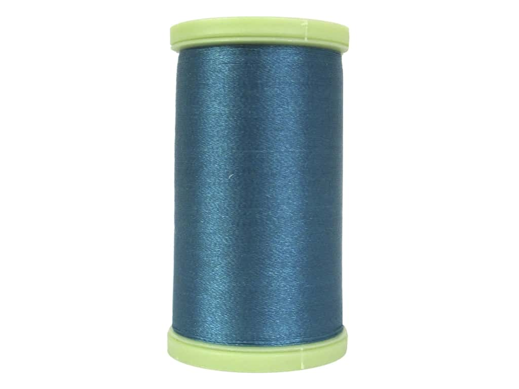 Coats Trilobal Polyester Embroidery Thread  600 yd. #5480 Oriental Teal