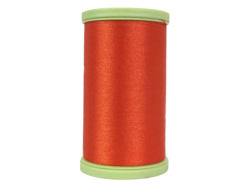 Coats Trilobal Polyester Embroidery Thread  600 yd. #7650 Tango