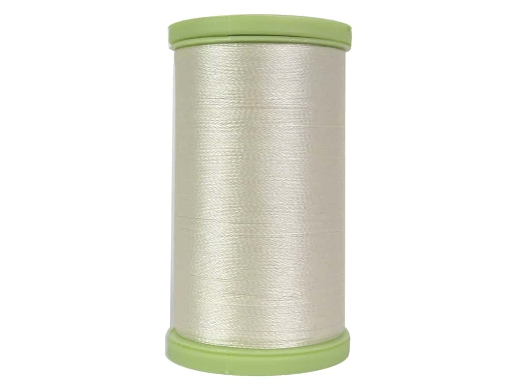 Coats Trilobal Polyester Embroidery Thread  600 yd. #8020 Cream