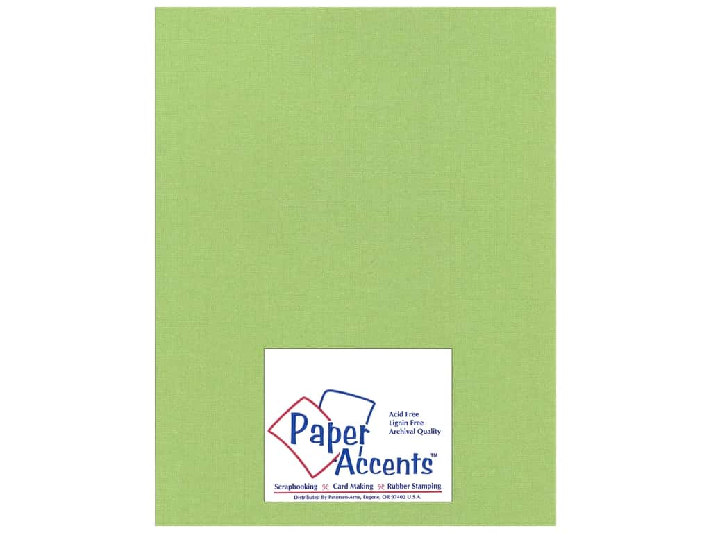 Paper Accents Cardstock 8 1/2 x 11 in. #25504 Glimmer Sparkling Apple 25 pc.