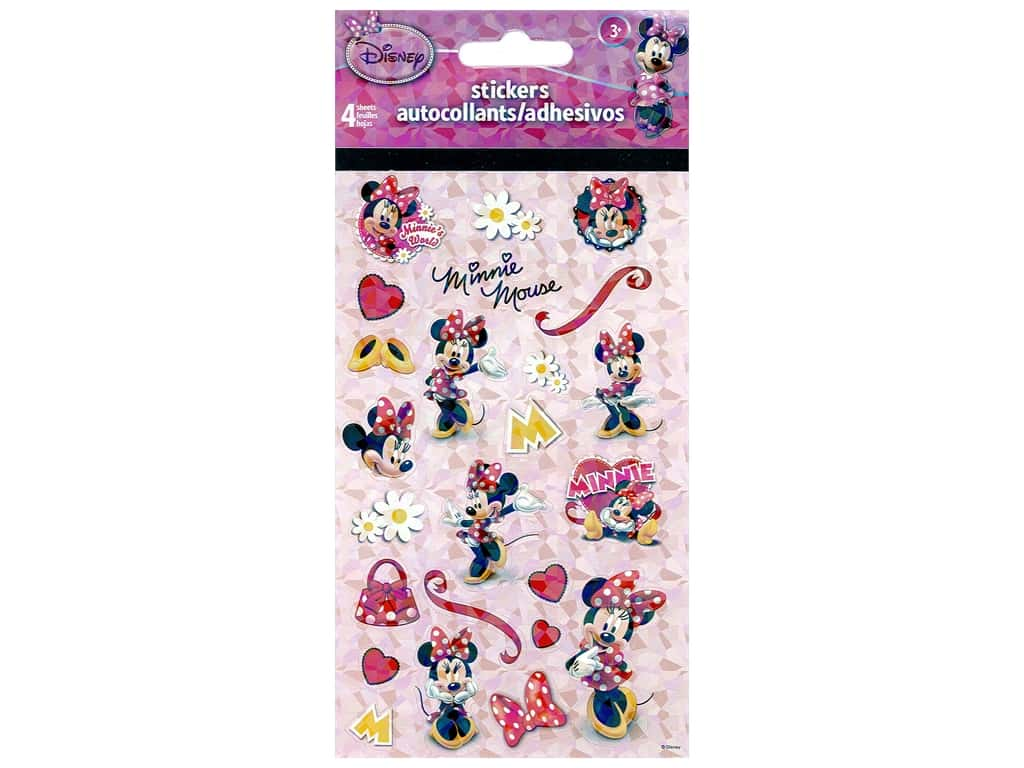 SandyLion Sticker Standard Disney Mickey Minnie