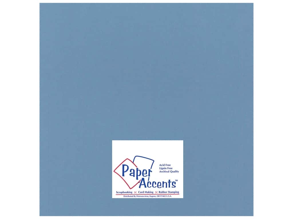 Paper Accents Cardstock 12 x 12 in. #17706 Heavyweight Smooth Twilight (25 sheets)