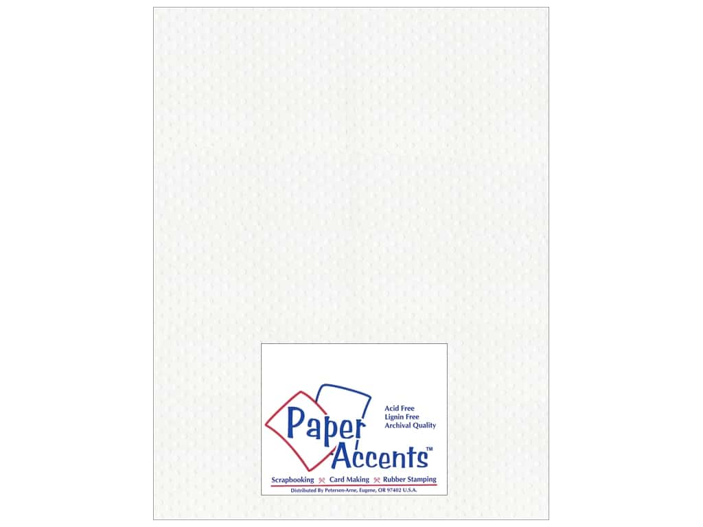 Paper Accents Cardstock 8 1/2 x 11 in. #3101011 Mini Dot Day Lily (25 sheets)