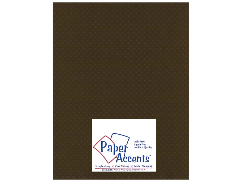 Paper Accents Cardstock 8 1/2 x 11 in. #39904 Mini Dot Night Flyer Lily 25 pc.