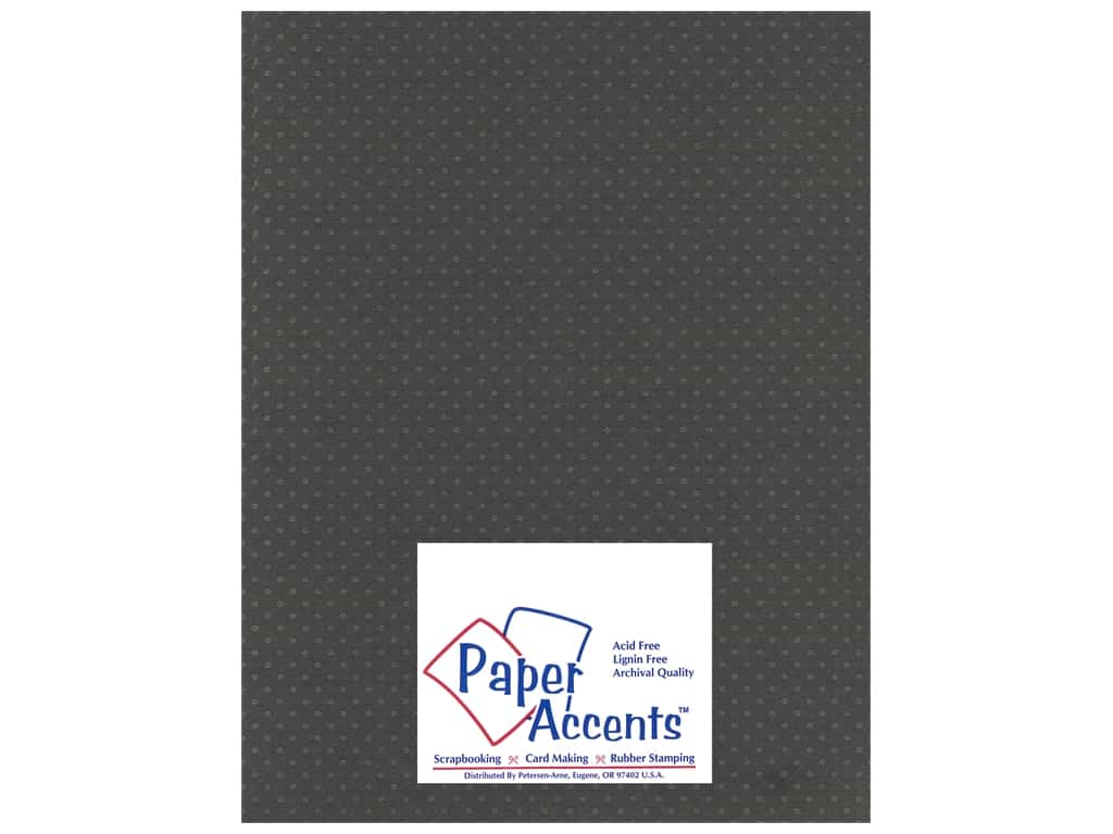 Paper Accents Cardstock 8 1/2 x 11 in. #3101010 Mini Dot Dusty Miller