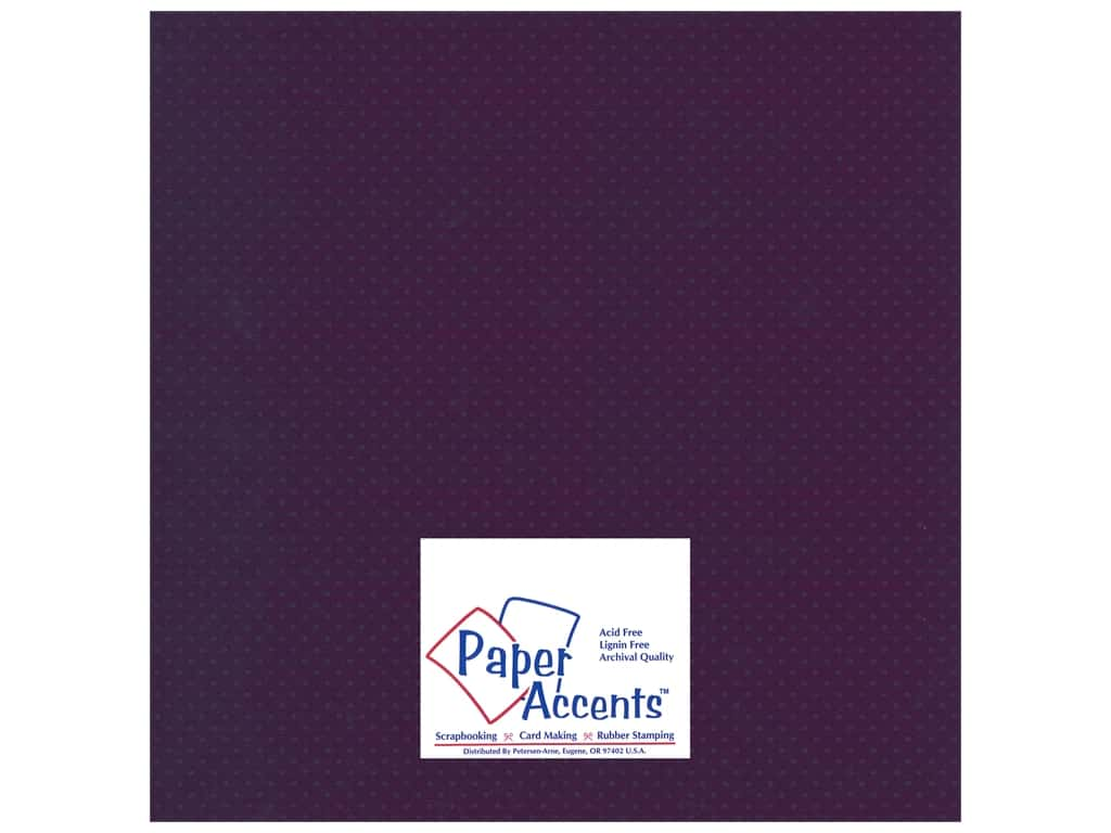 Paper Accents Cardstock 12 x 12 in. #36607 Mini Dot Snapdragon 25 pc.