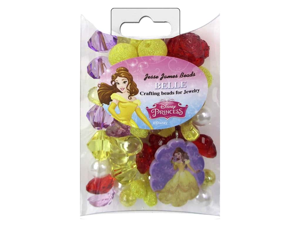 Jesse James Kit Jewelry Bead Disney Belle