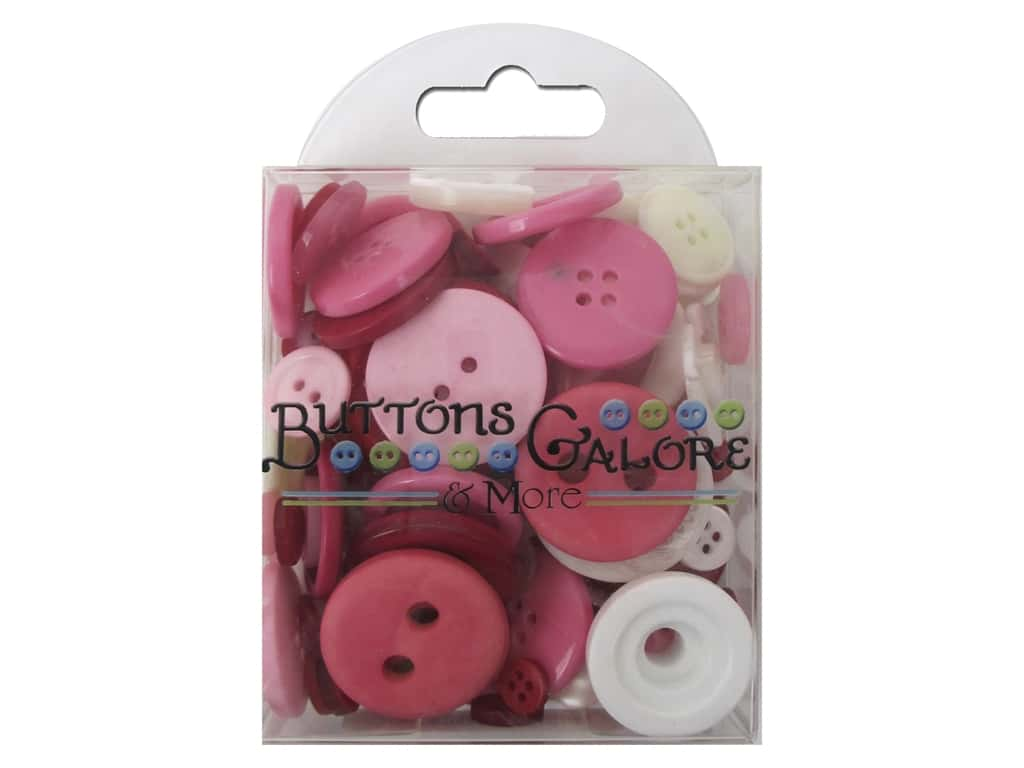 Buttons Galore Button Totes 3.5 oz. Love