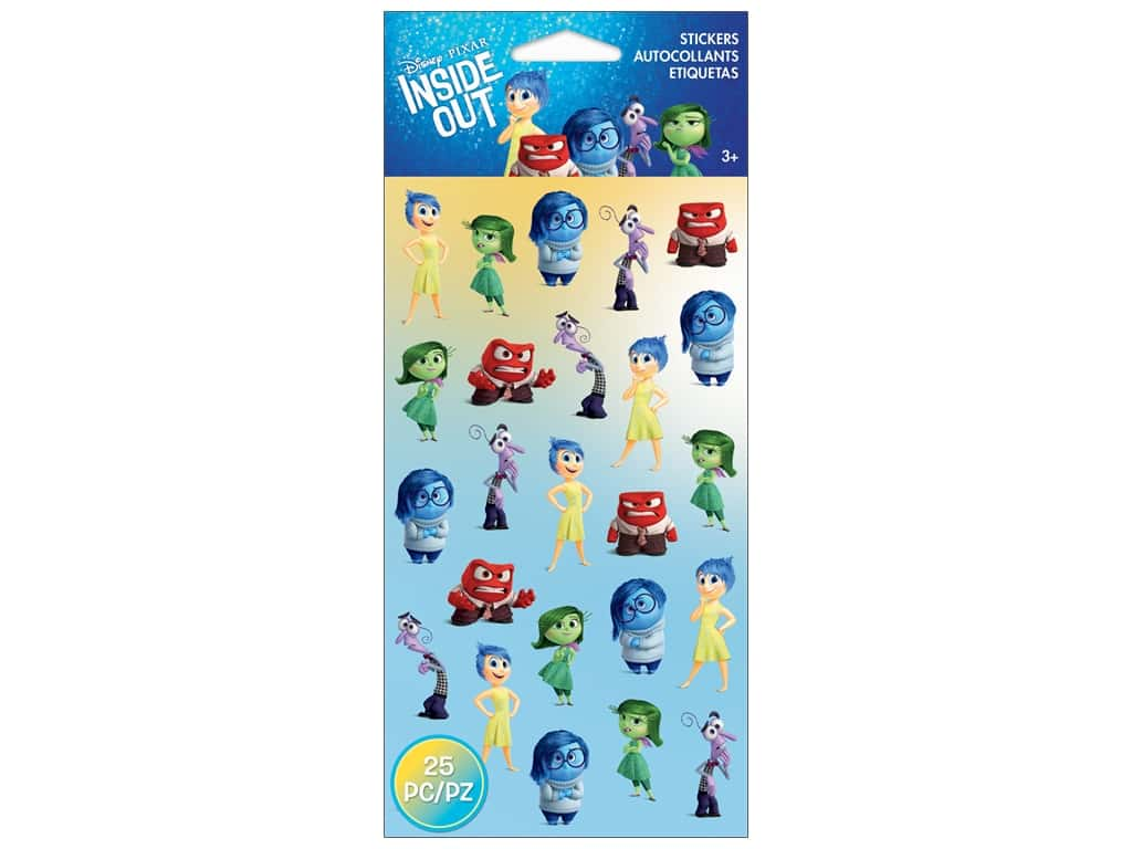 EK Disney Sticker Inside Out Mini Emotions