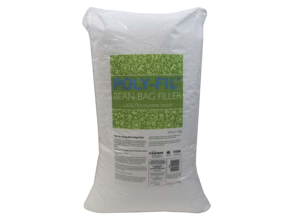 Fairfield Filler Poly Bean Bag 2.5lb