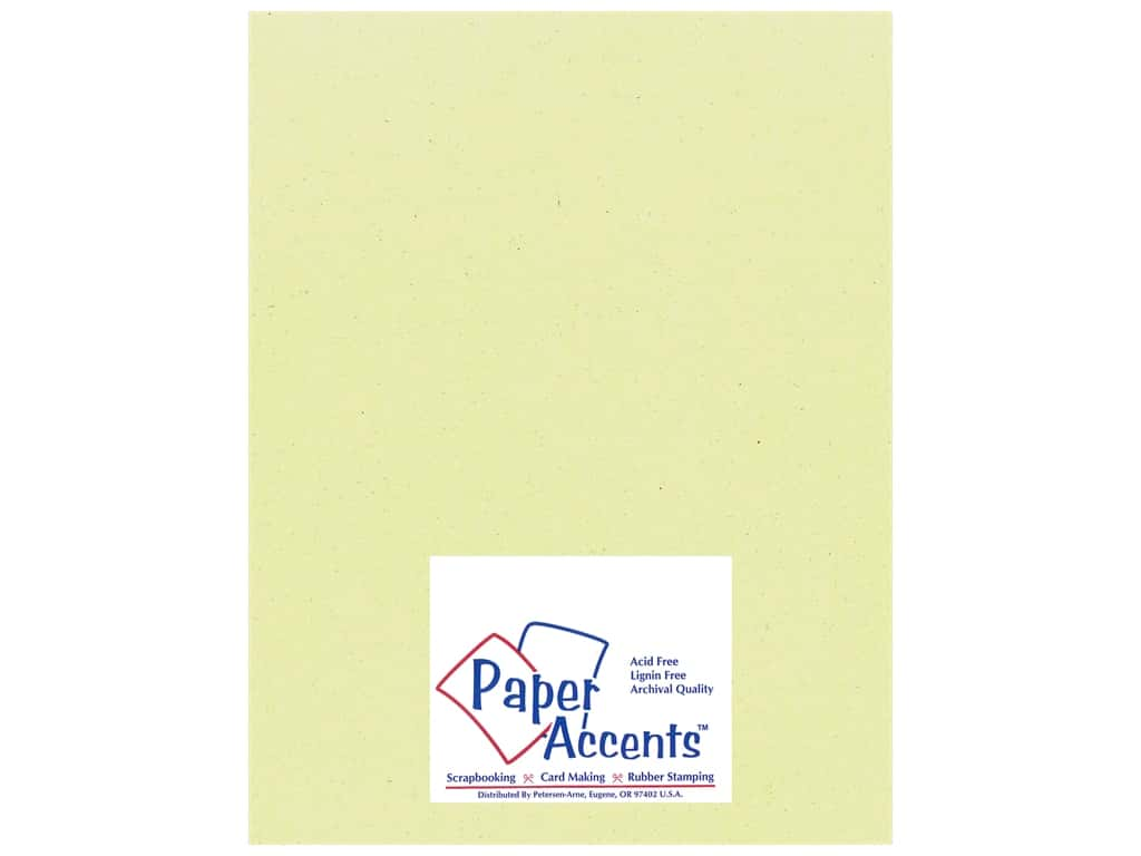 Paper Accents Cardstock 8 1/2 x 11 in. #18021 Smooth Spring Breeze 25 pc.
