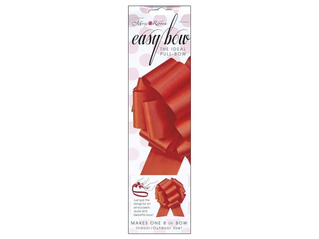 Morex Easy Bow 8 in. Red