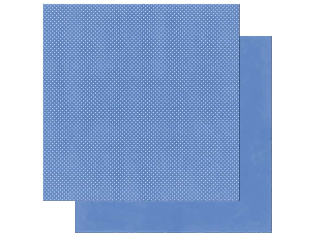 Bo Bunny 12 x 12 in. Paper Double Dot Periwinkle (25 sheets)