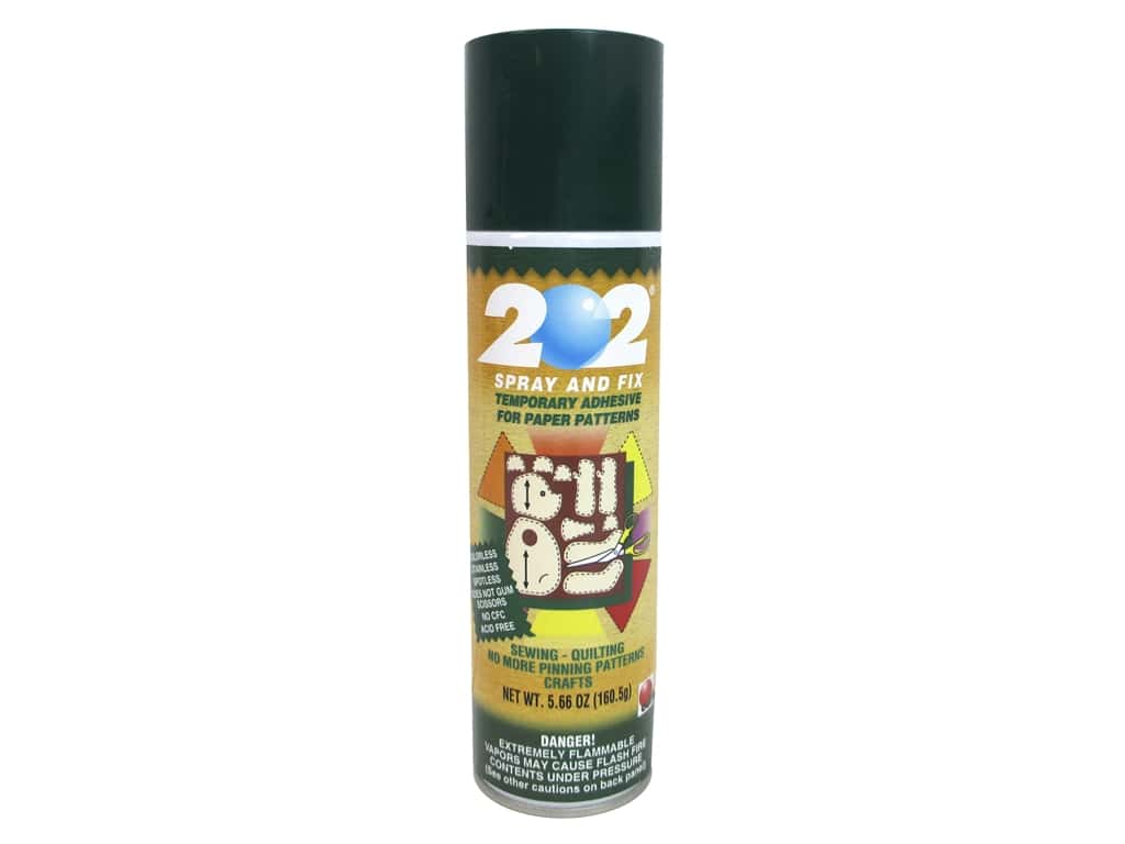 Odif 202 Spray & Fix Temporary Adhesive for Patterns 5.66 oz