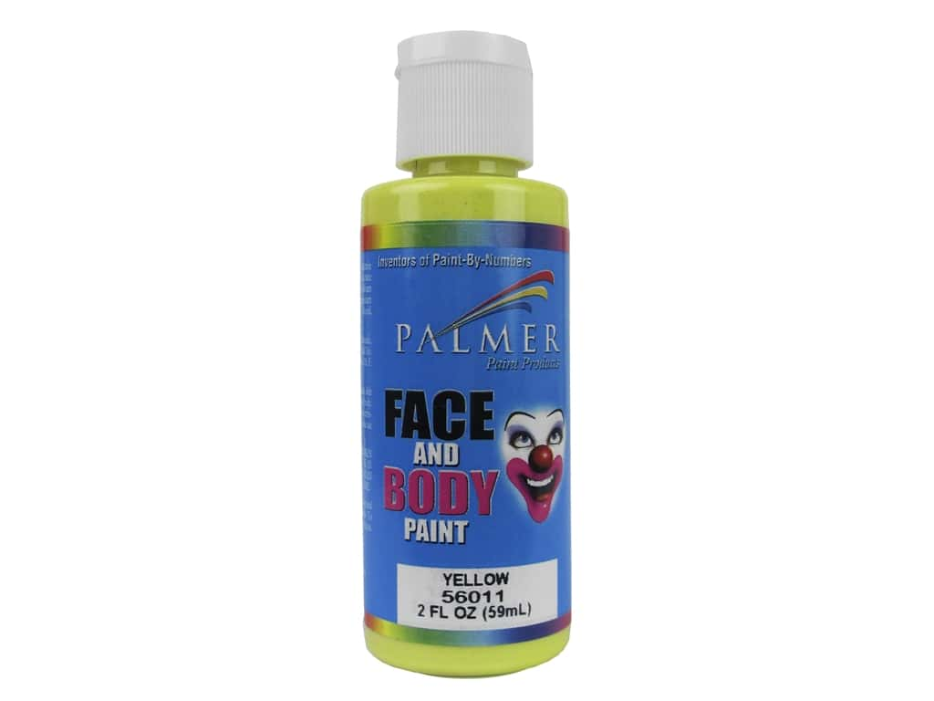 Palmer Face and Body Paint 2 oz. Yellow