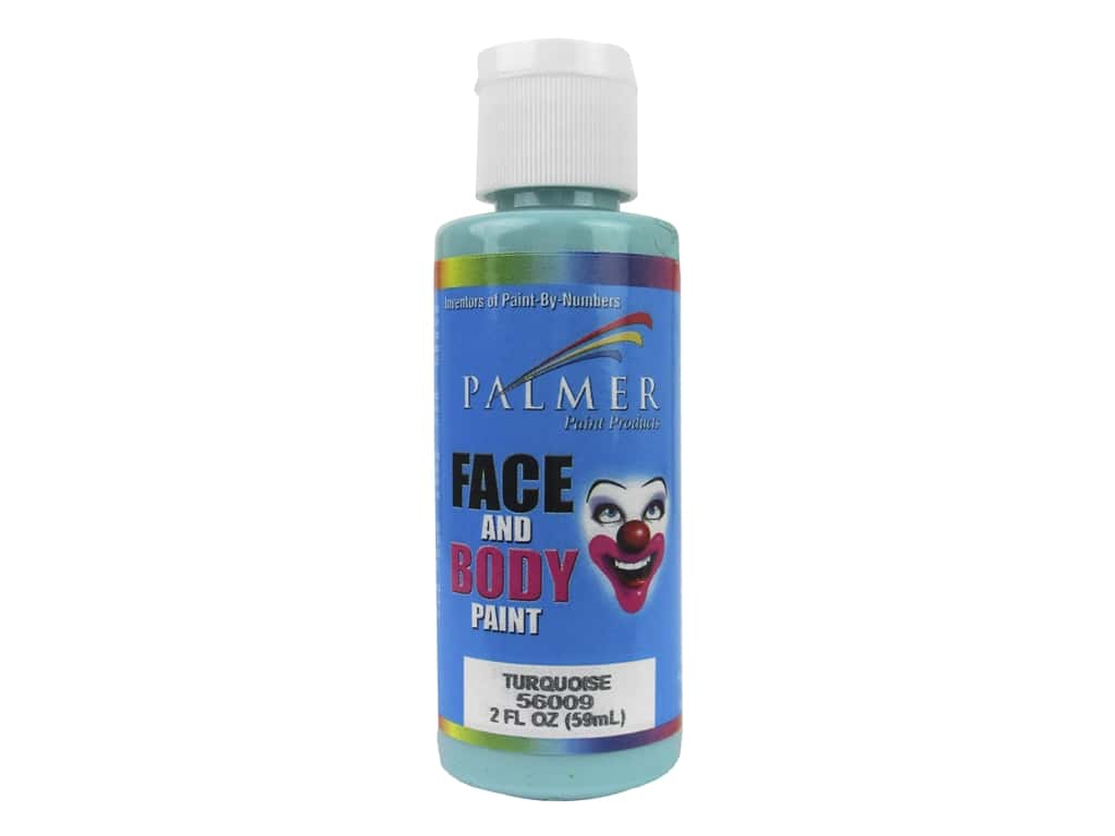 Palmer Face and Body Paint 2 oz. Turquoise