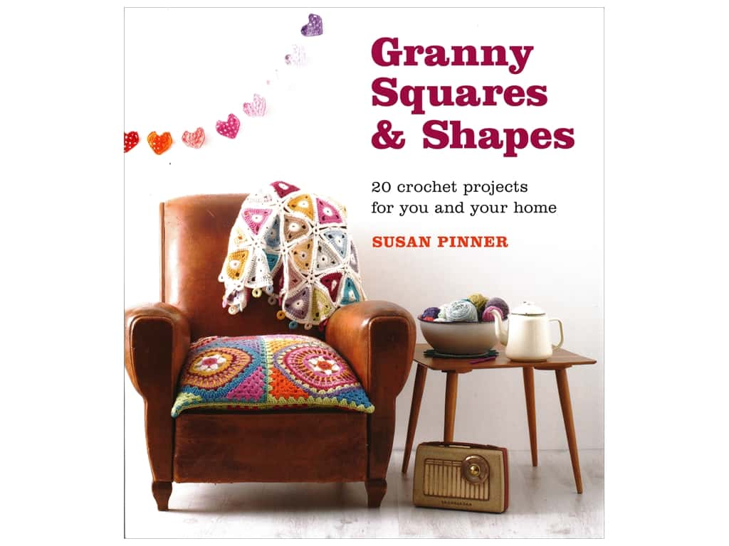 Guild of Master Craftsman Granny Squares & Shapes Book