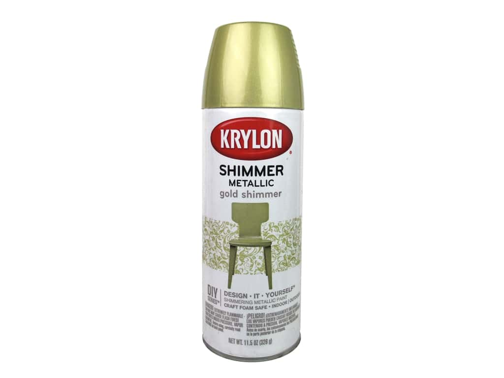 Krylon Shimmer Metallic Spray Paint 11.5 oz. Gold