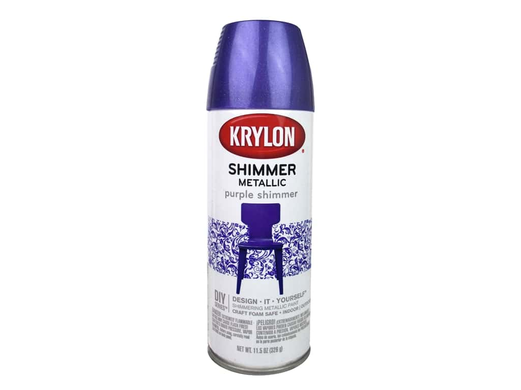 Krylon Shimmer Metallic Spray Paint 11.5 oz. Candy Grape