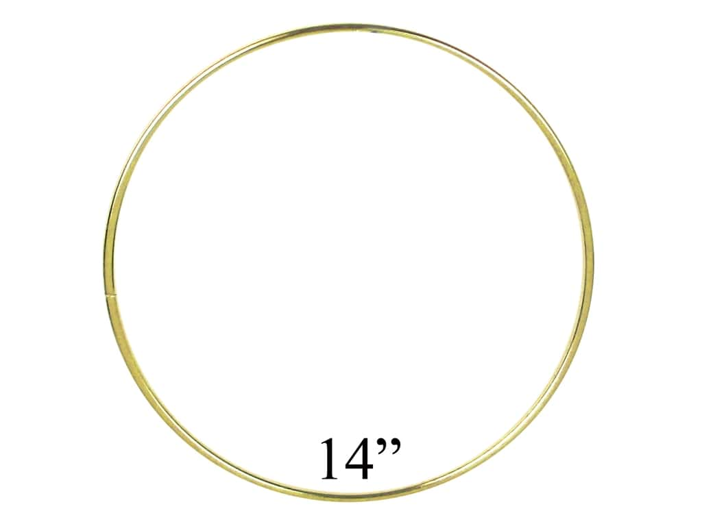 PA Essentials Brass Rings 14 in. (6 pieces)